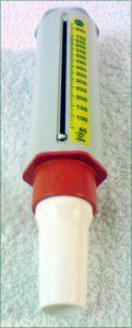 Débitmètre de pointe pour mesurer le débit expiratoire de pointe, preuve scientifique de la sophrologie